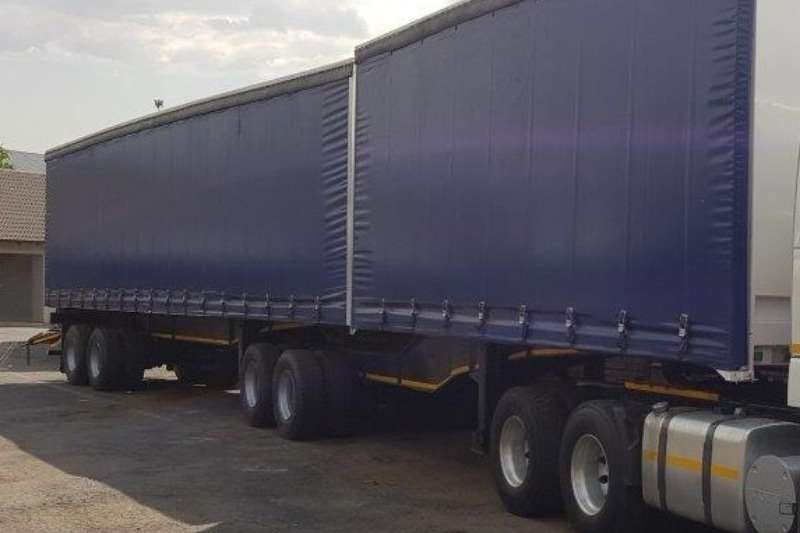 Superlink Refurbished Tautliner Super Link Trailers