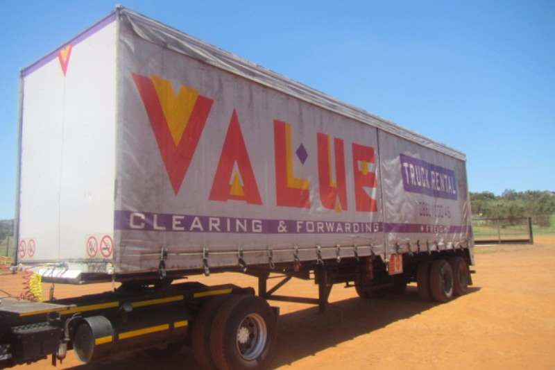Trailers Swift Curtain Side SWIFT DOUBLE AXLE CURTAIN SIDE TRAILER 0