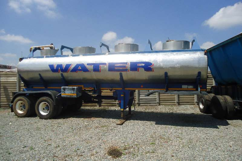 Trailers Tank Clinic Water Tanker 2 AXLE WATER BOWSER 30 000 L 1998