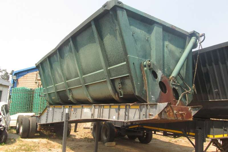 Trailers Top Trailer 22Cubic side-tipper front link trailer 2006