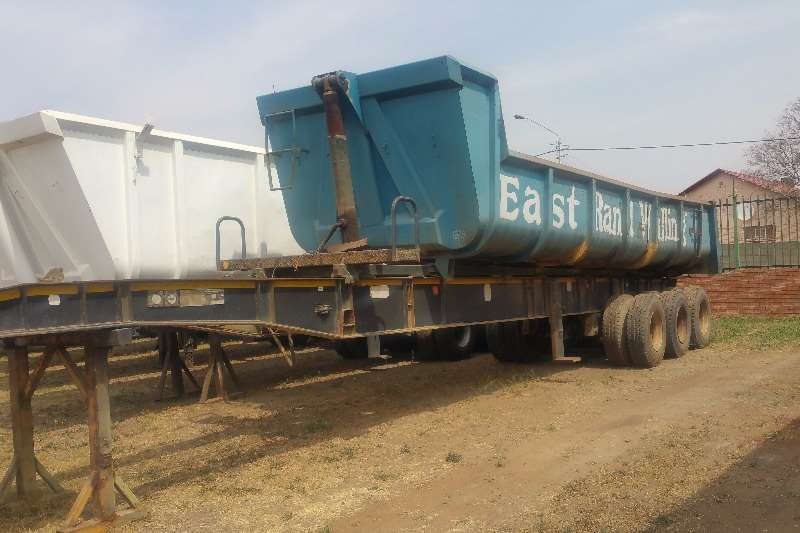 Trailers Top Trailer End Tipping Sliding Bin End Tipper 2004