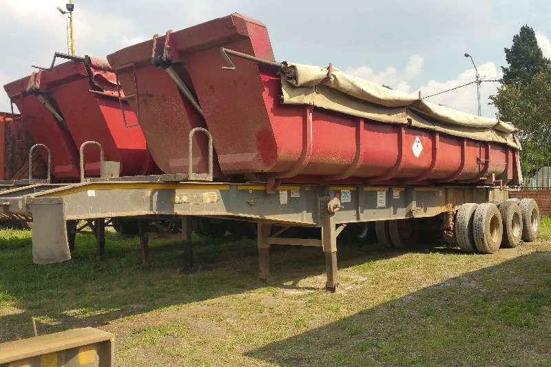 Trailers Top Trailer End Tipping Sliding bin end tipper 2007