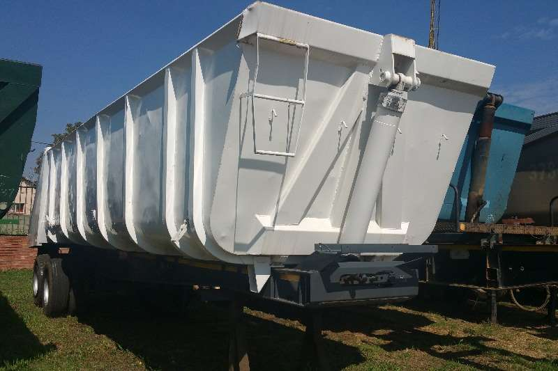 Trailers Top Trailer End Tipping Tandem end tipper 2004