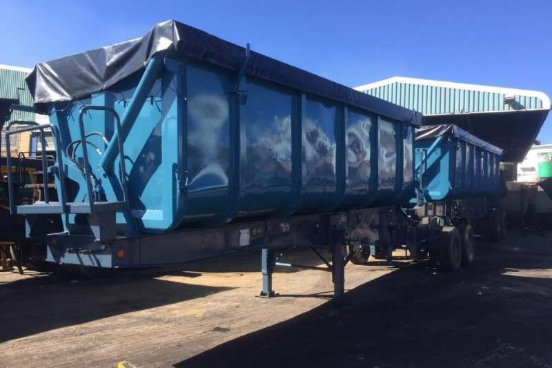 Trailers Top Trailer Side Tipper Used Top Trailer Side Tipper Link Available 2008