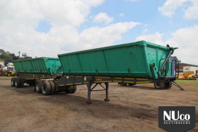 Trailers Top Trailer TOP TRAILER SIDE TIPPER LINK 2013