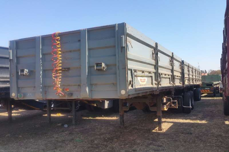 Trailers Trailord Dropside Dropside Superlink 2011