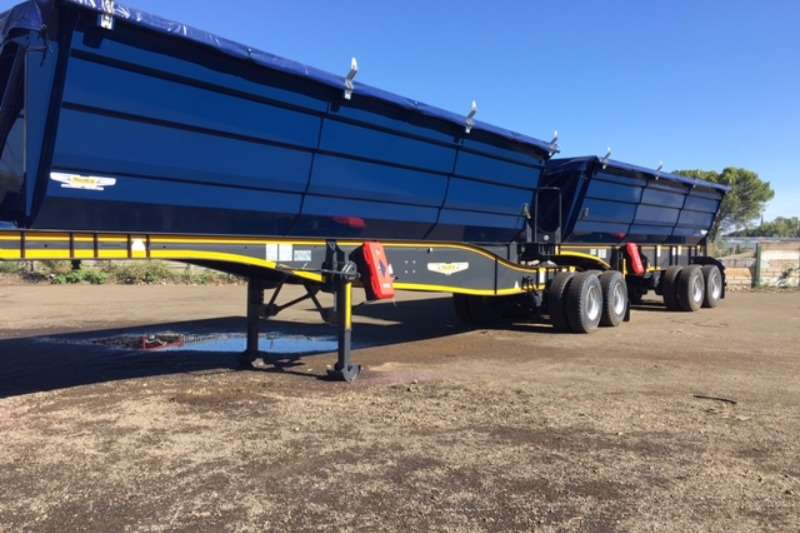 Trailers Trailord Grain Carrier 45 Cube 36.5 Ton Payload - Specified for Maize and 0