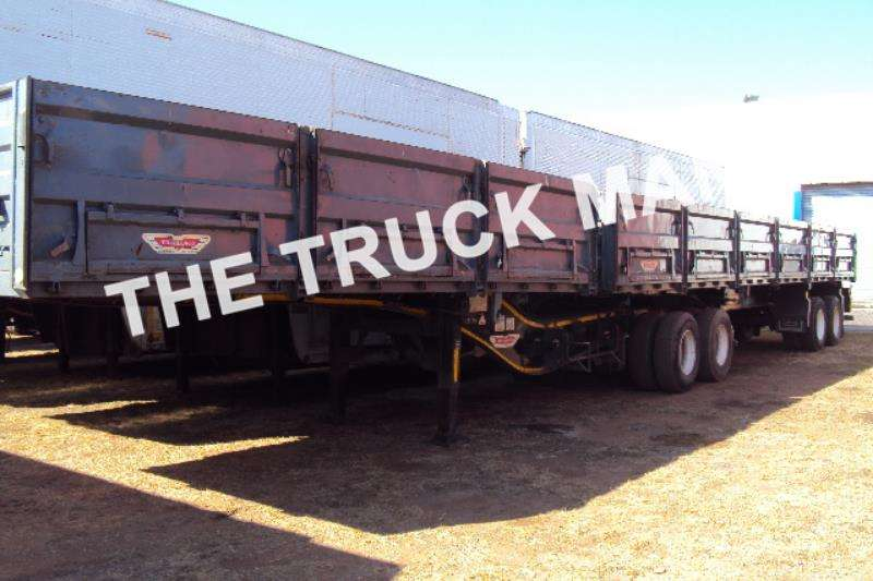 Trailers Trailord Grain Carrier DROPSIDE SUPERLINK 2010
