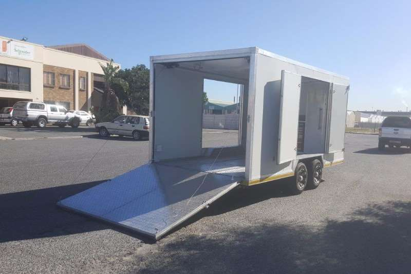Trailers Western Cape Trailer Custom Enclosed Car Trailers 2017