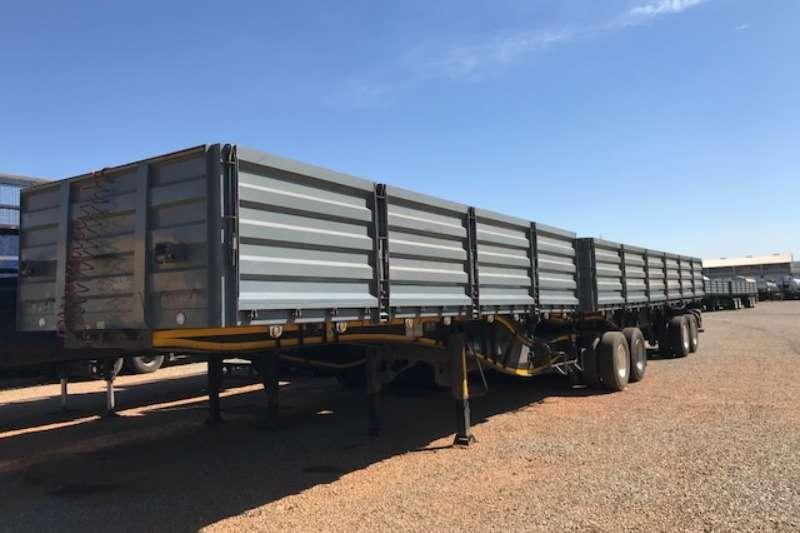 Trailord Interlink Dropside side tipper trailers