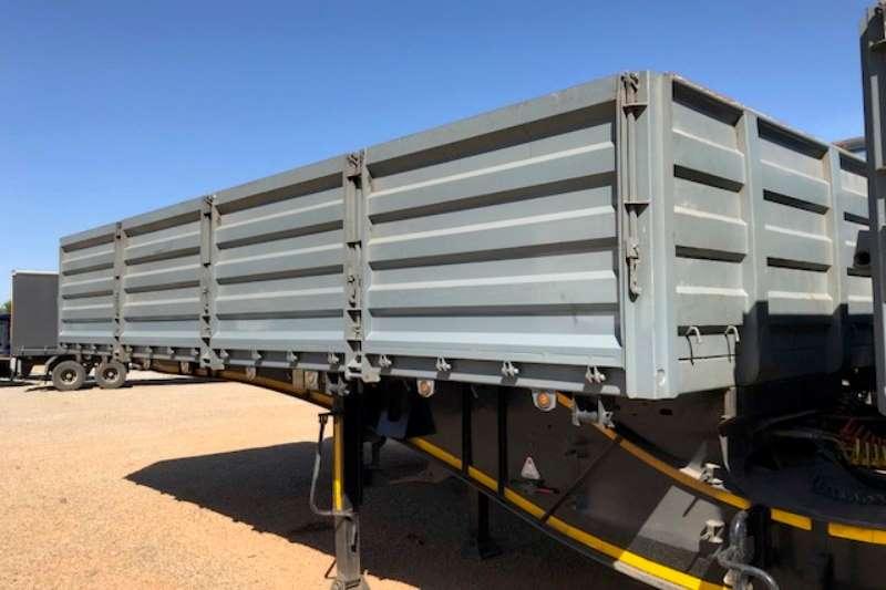Trailord Interlink Interlink Dropside side tipper trailers Trailers