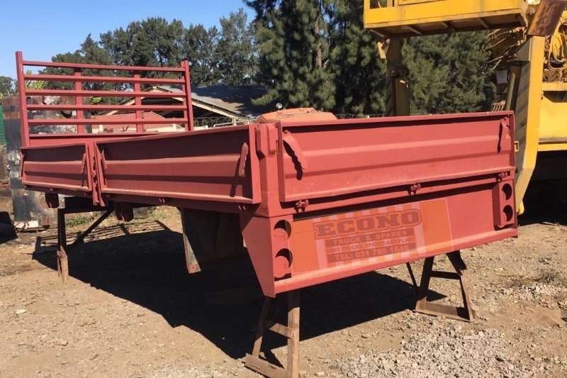 Truck bodies Red Dropside Body 0