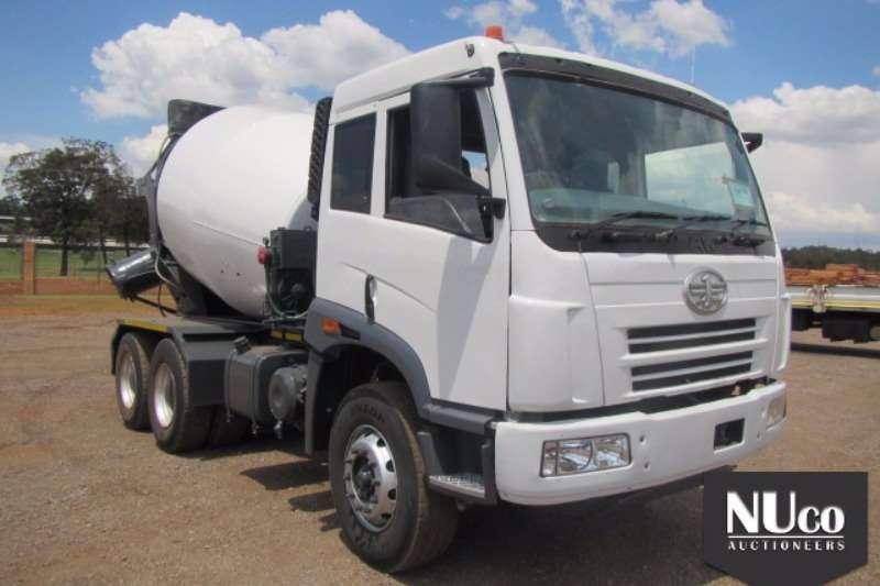 Truck FAW Concrete Mixer 33.330 6 CUBE CONCRETE MIXER#LFNDVXMJ8CAD18585 2013