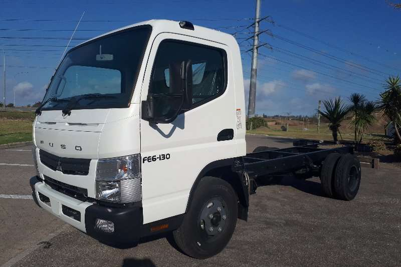 Truck Fuso Chassis Cab Canter FE6-130 2017