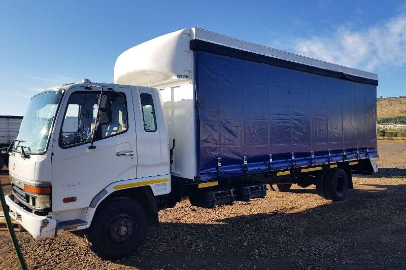 Fuso Curtain side FK10 162 Tautliner Body Truck