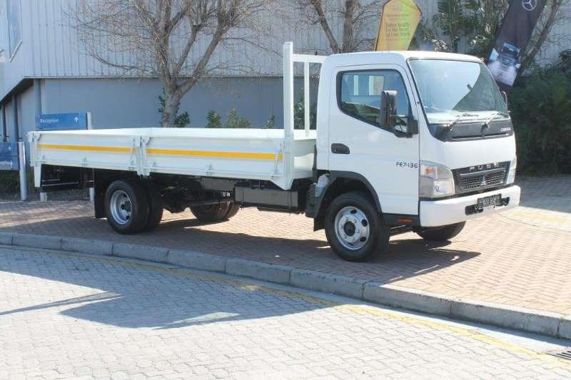 Fuso Dropside New Canter FE7 136 Dropside Truck