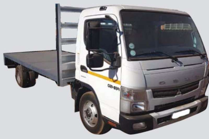 Truck Fuso Flat Deck Canter FE 8-150 TF Automatic & New Flatbed 2015