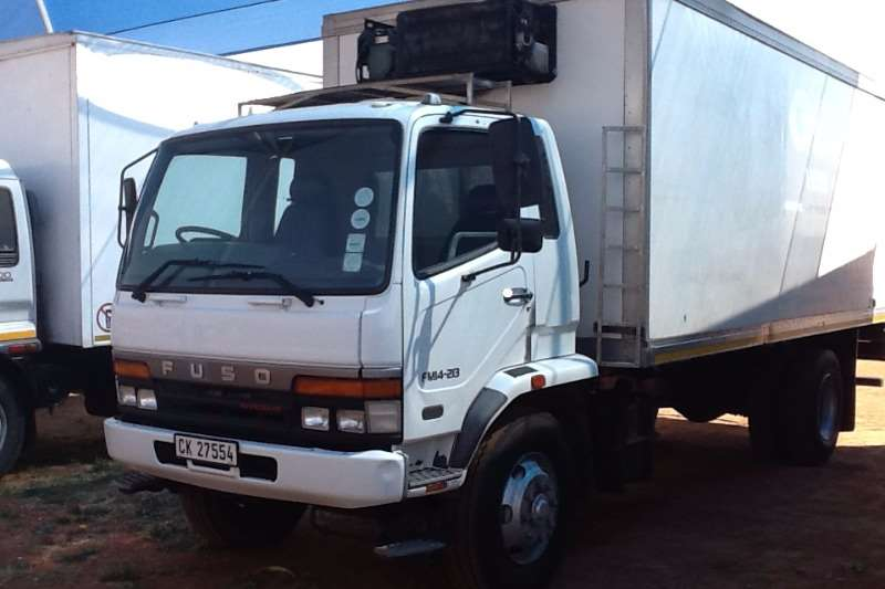 Truck Fuso Fridge Truck FM 14-213 Fitted with fridge body 2006