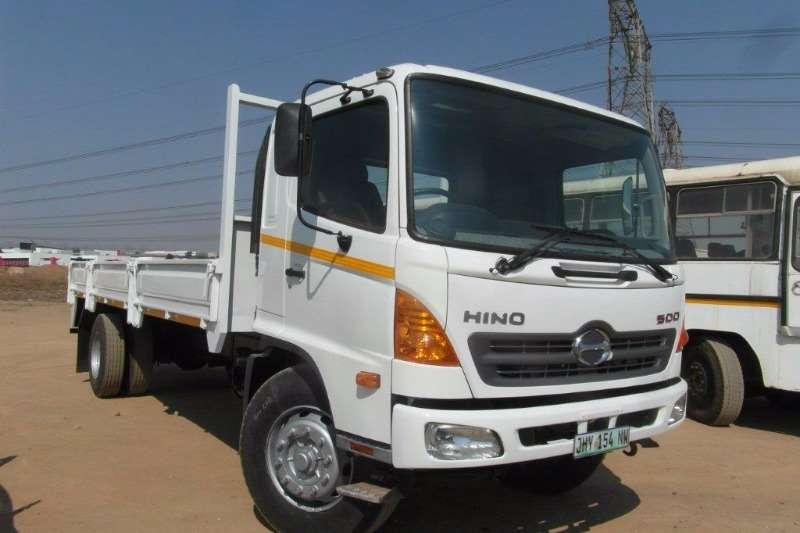 Truck Hino Dropside 500 8 Ton Dropside 2015