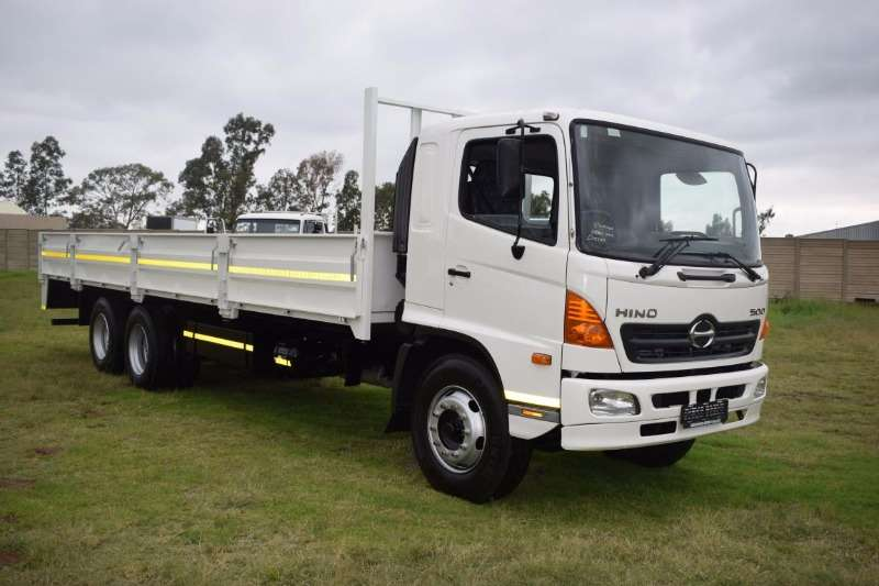 Truck Hino Dropside HINO 500-1626/With Tag Axle 2015