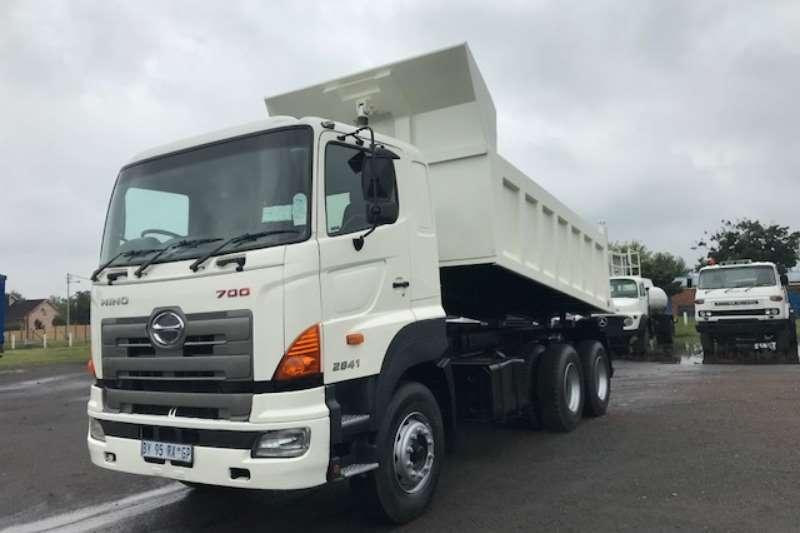 Hino Tipper HINO 700 2841 10CUBE TIPPER Truck
