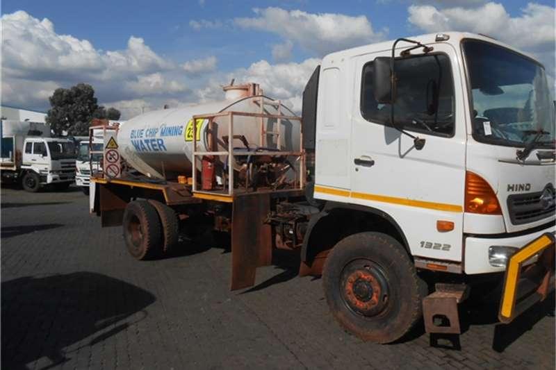 Truck Hino Water Tanker 13-22 4 x 4 WATER TANKER 2011