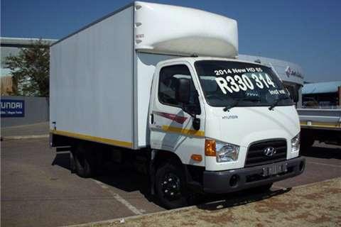 Truck Hyundai Other HD 65 Van Body 2014