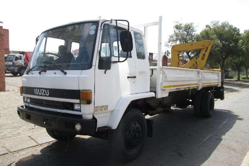 Isuzu Crane truck F8000 Truck