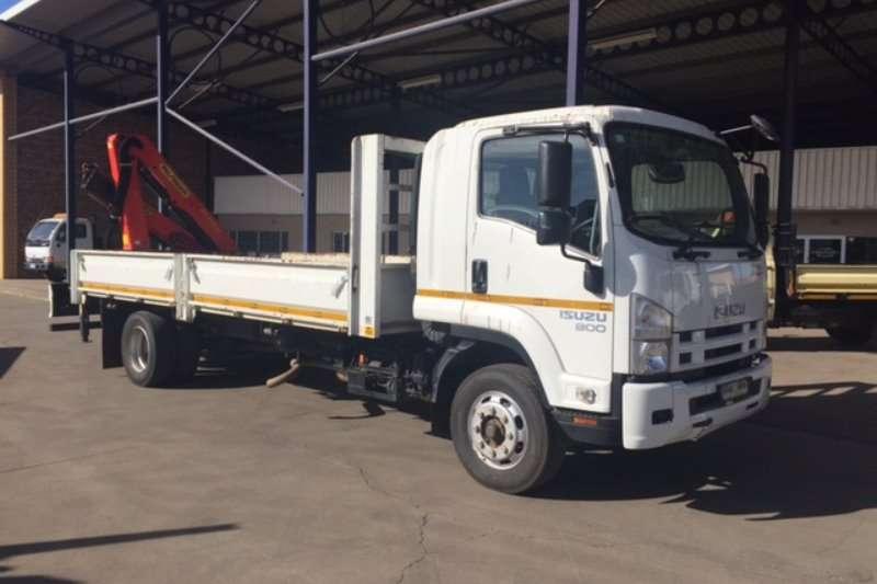 Truck Isuzu Crane Truck FSR 800 AMT with Palfinger PK10000 crane 2016