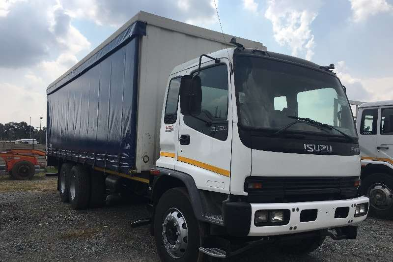 Truck Isuzu Curtain Side 2008 Isuzu FVZ1400 2008