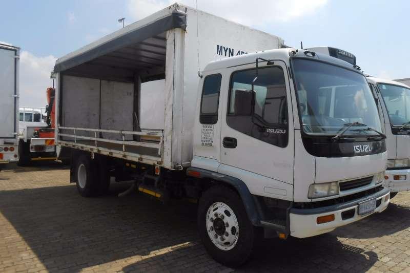 Truck Isuzu Curtain Side ISUZU FSR 700 TAUTLINER 2001
