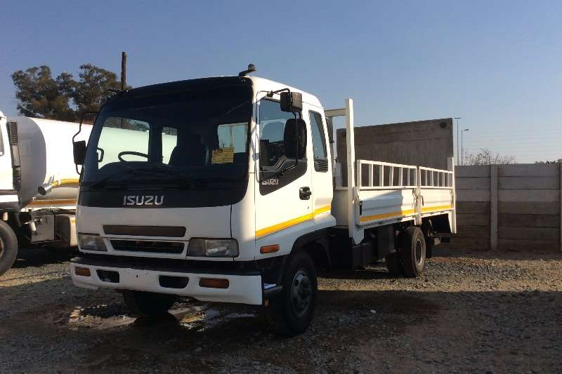 Truck Isuzu Dropside FRR500 Dropside with Tail Lift 2006