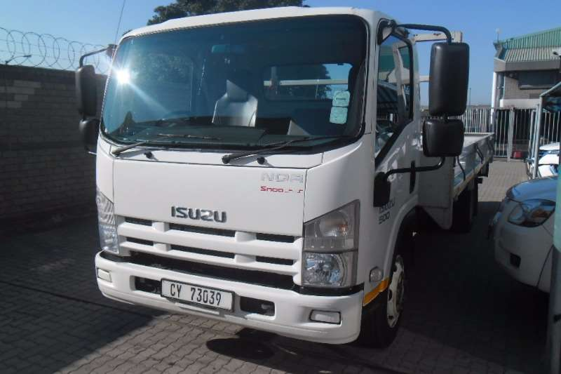 Truck Isuzu Dropside NQR500 AMT 2013