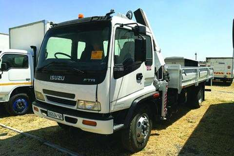 Truck Isuzu FTR 800 D/Side- 2005