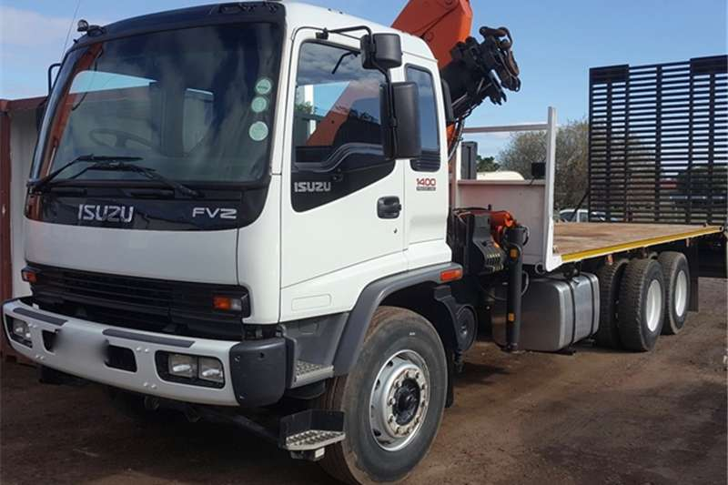 Truck Isuzu FVZ 1400 FREGHTER TURBO CRANE TRUCK WITH BEAVER TA 2007