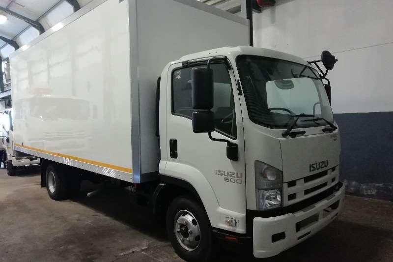 Isuzu Insulated body New FRR 600 AMT Truck