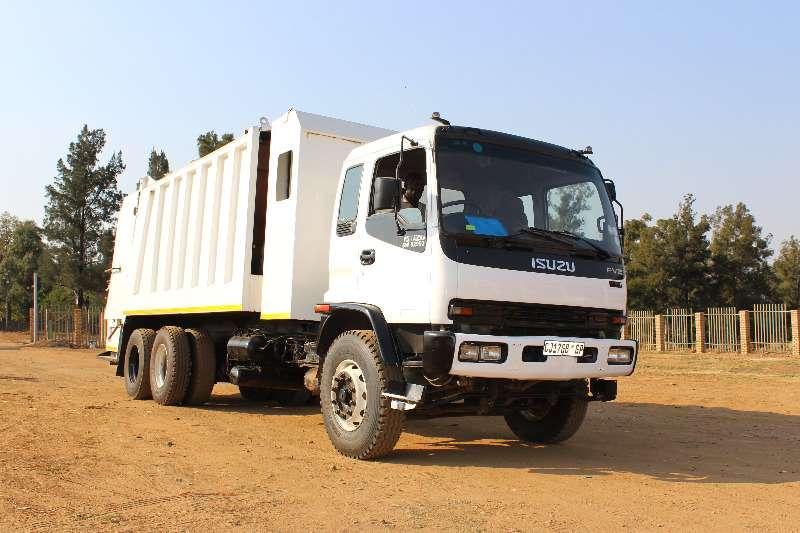 Truck Isuzu Refuse Disposal Isuzu FVZ 1400 Refuge Compactor 0
