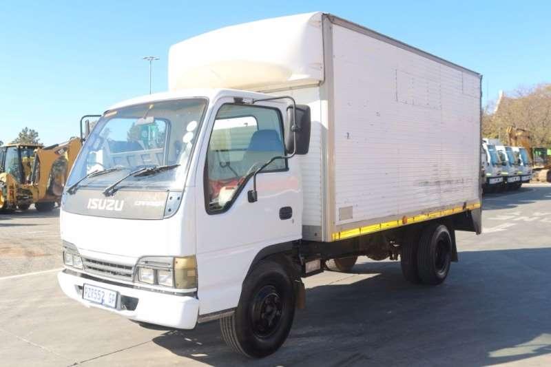 Truck Isuzu Van body Carrier Box Body 2004