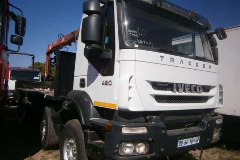 Iveco Crane truck Trakker 420 8x4 Truck