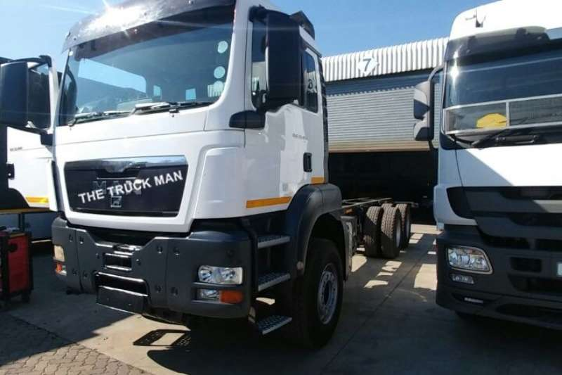 Truck MAN Chassis Cab TGS 33.480 2013
