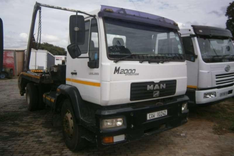 Truck MAN Skip Bin Loader 18-280 2007