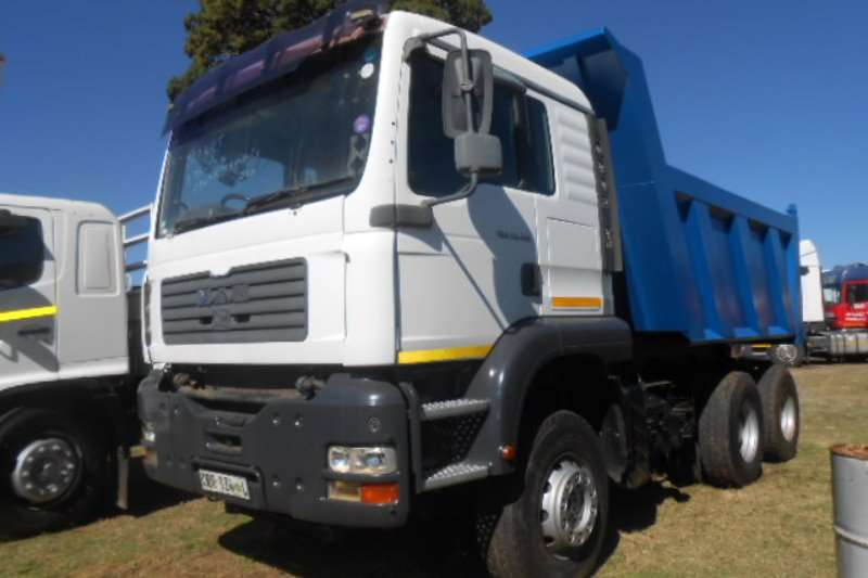 Truck MAN Tipper 33-410 2006