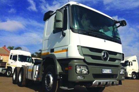 Truck Mercedes Benz 3344 Actros MP3- 2012