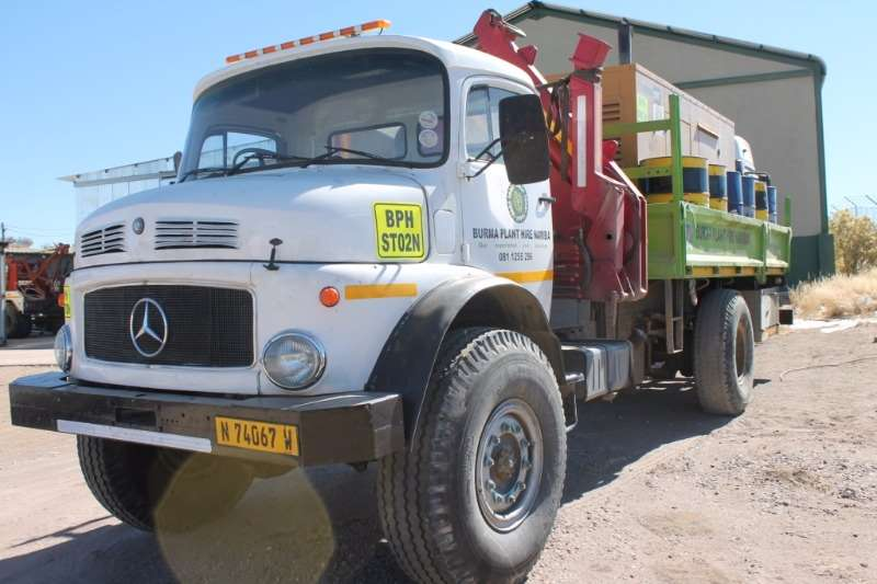 Truck Mercedes Benz Crane Truck 4x4 Crane Truck 1991