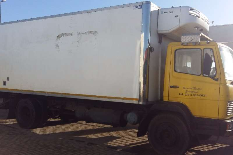 Truck Mercedes Benz Fridge Truck 1214 1990