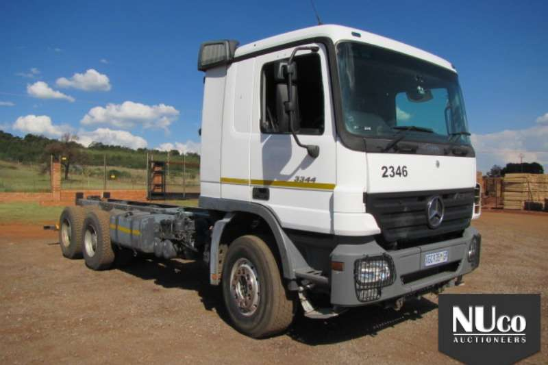 Truck Mercedes Benz MERCEDES BENZ ACTROS 3344 CHASSIS CAB 2008