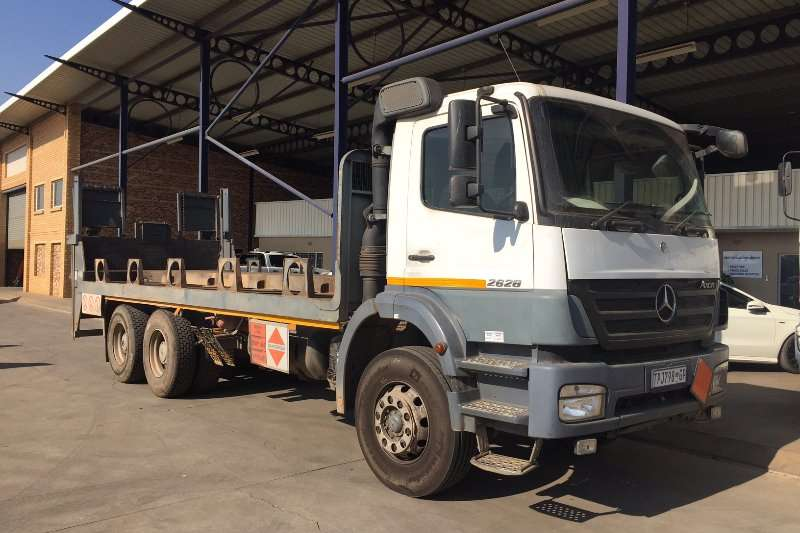 Truck Mercedes Benz Other Axor 2628 with Gas Body 2006