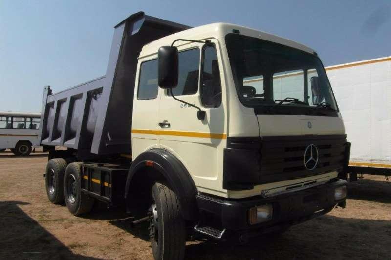 Truck Mercedes Benz Tipper 2633 10m3 Tipper 1989