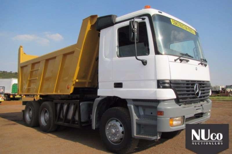 Truck Mercedes Benz Tipper ACTROS 3335 10M3 TIPPER#WDB954161K366035 0
