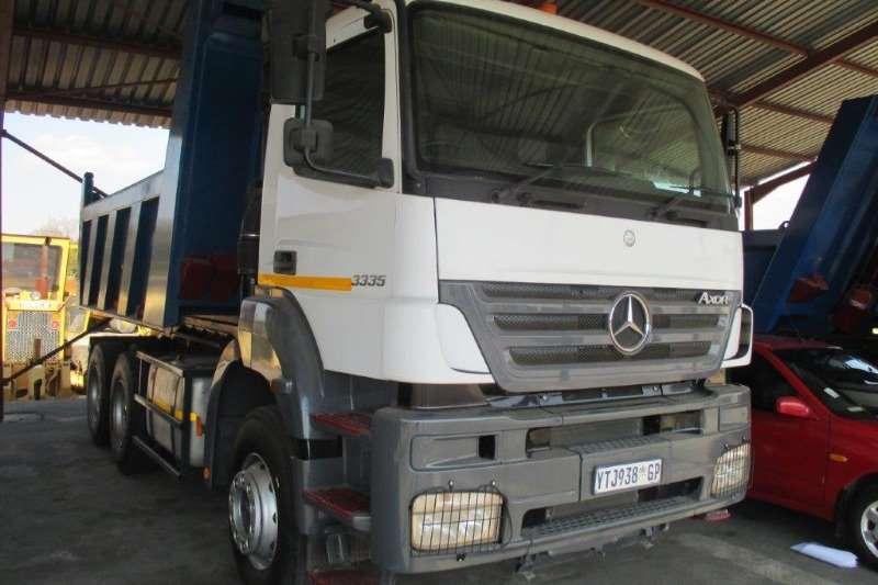 Mercedes Benz Tipper AXOR 3335 Double Diff 10 Cube Tipper Truck